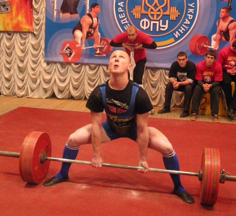 Майстер спорту міжнародного класу із пауерліфтингу - Попрієнко Олег