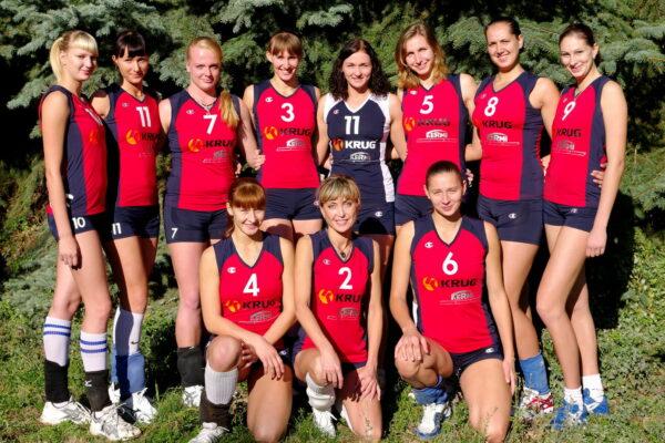 """Волейбольна команда """"Круг"""" (2011 р.)"""